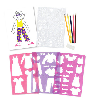 Fashion Fun Stencil Set