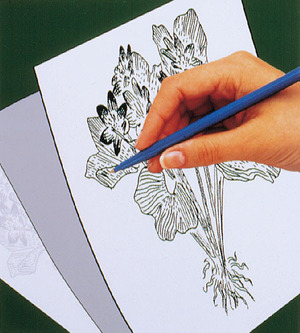 Scratch Art Trace-It White Transfer Paper (5 sheets)