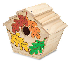 Build-Your-Own Wooden Birdhouse