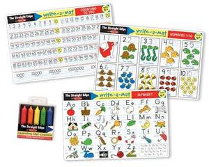 Alphabet & Numbers Learning Mats Set