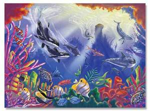 Majestic Depths Cardboard Jigsaw Puzzle - 300 Pieces