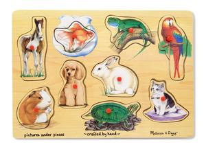 Pets Peg Puzzle