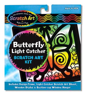 Scratch Art® Butterfly Light Catcher Kit
