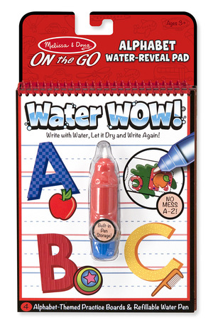 Water WOW! Alphabet - ON the GO Travel Activity