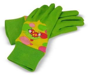 Mollie & Bollie Ladybugs Kids' Gardening Gloves