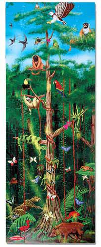 Rainforest Floor Puzzle - 48 Pieces