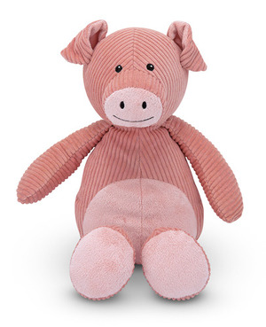 Corduroy Cutie Pig Stuffed Animal