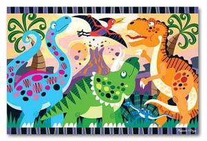 Dinosaur Dawn Floor Puzzle - 24 Pieces