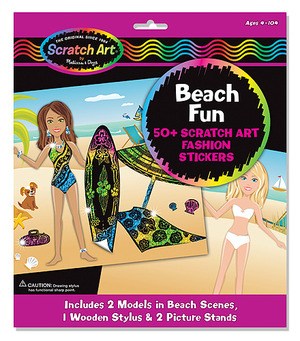Scratchin' Fashion&#174; Sticker Scenes Beach Fun