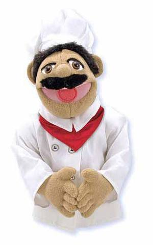 Realistic Chef Puppet
