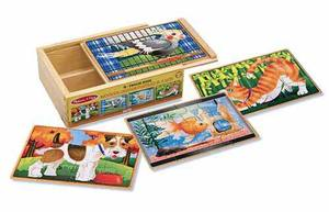 Pets Jigsaw Puzzles in a Box