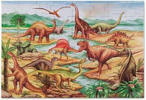 Dinosaurs Floor Puzzle - 48 Pieces