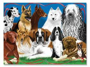 Fetching Friends Cardboard Jigsaw Puzzle - 200 Pieces