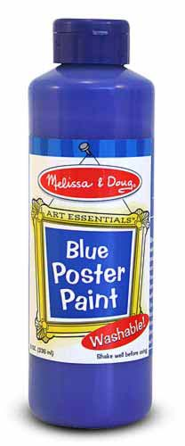 Blue Poster Paint