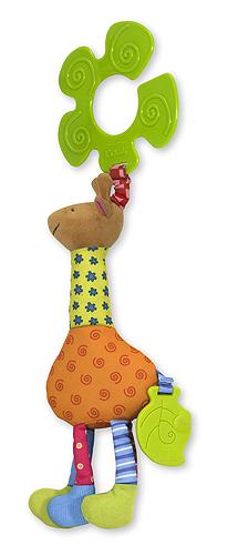 Funky Giraffe Stroller Pal Baby Toy