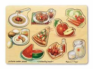 Food Peg Puzzle