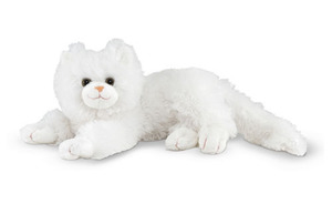 Flossie White Cat Stuffed Animal