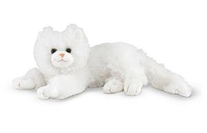 Flossie White Cat Stuffed Animal