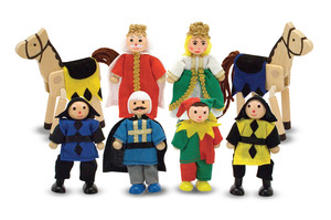 Castle Wooden Figure Set