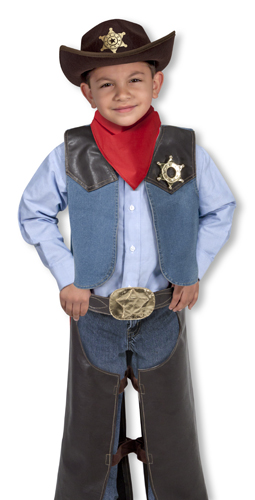 Cowboy Role Play Costume Set