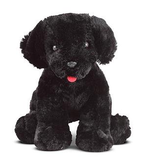 Benson Black Lab Puppy Dog Stuffed Animal