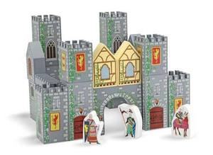 Castle Blocks Wooden Play Set