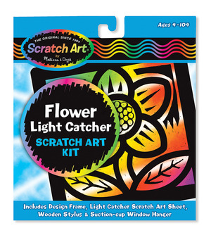 Scratch Art® Flower Light Catcher Kit