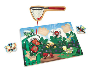 Bug-Catching Magnetic Puzzle Game