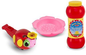 Bollie Ladybug Bubble Whistle