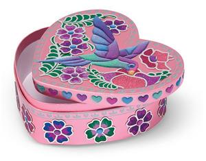 Sweetheart Treasure Box Peel & Press Sticker by Number