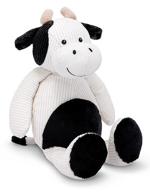 Corduroy Cutie Cow Stuffed Animal