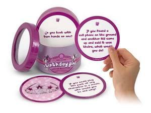 The Box Girls Birthday Girl Box of Questions