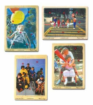 DISABILITY Awareness Peg Set - 4pc