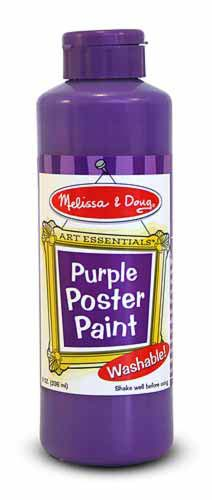Purple Poster Paint