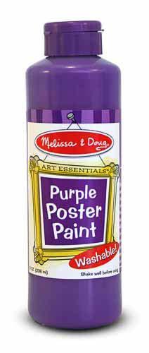 Purple Poster Paint