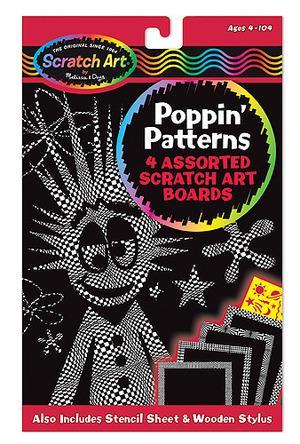 Scratch Art® Poppin' Patterns