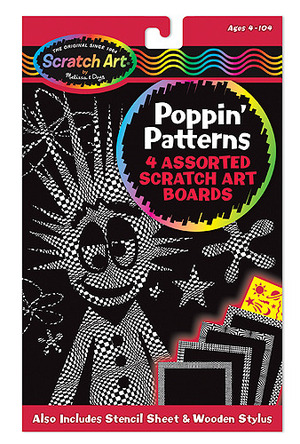 Scratch Art® Poppin' Patterns