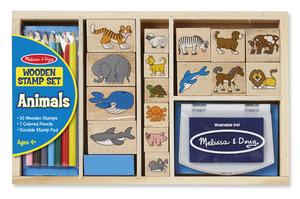 Animal Stamp Set