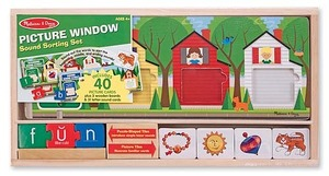 Picture Window Sound Sorting Set
