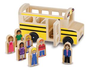 Classic Wooden School Bus