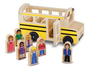Wooden Classic School Bus