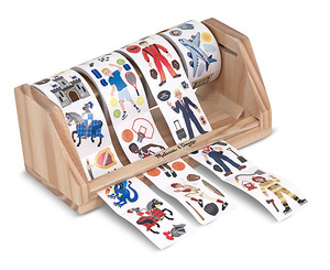 Dress-Up Stickers Roll - Vehicles, Careers, Sports & Knights