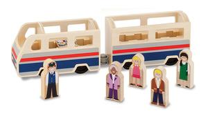Wooden Passenger Train
