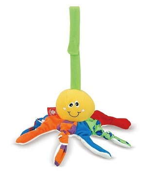 Wiggly Octopus Baby Toy