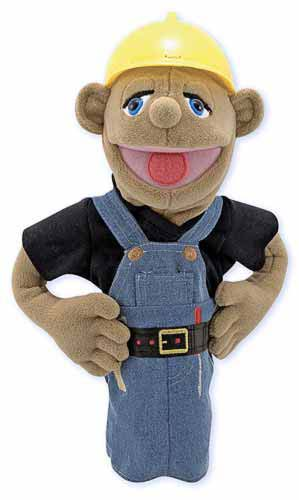 Construction Worker Puppet