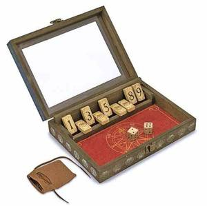 Vintage-Look Wooden Shut-the-Box