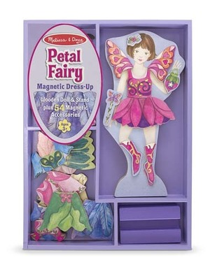 Petal Fairy Magnetic Dress-Up Set