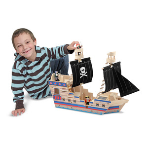 Deluxe Pirate Ship Play Set