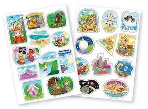 Trunki Destination Stickers