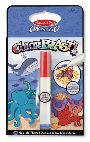 Sea Life Colorblast Book - ON the GO Travel Activity